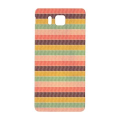 Abstract Vintage Lines Background Pattern Samsung Galaxy Alpha Hardshell Back Case