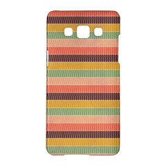 Abstract Vintage Lines Background Pattern Samsung Galaxy A5 Hardshell Case