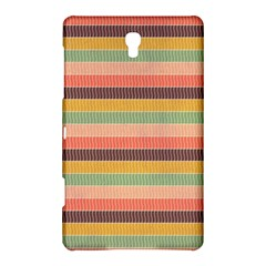 Abstract Vintage Lines Background Pattern Samsung Galaxy Tab S (8 4 ) Hardshell Case