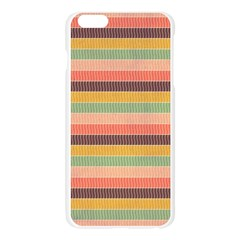 Abstract Vintage Lines Background Pattern Apple Seamless iPhone 6 Plus/6S Plus Case (Transparent)