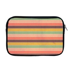 Abstract Vintage Lines Background Pattern Apple Macbook Pro 17  Zipper Case
