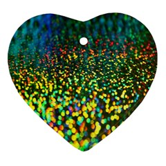 Construction Paper Iridescent Ornament (heart)