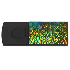 Construction Paper Iridescent Usb Flash Drive Rectangular (4 Gb)