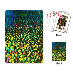 Construction Paper Iridescent Playing Card