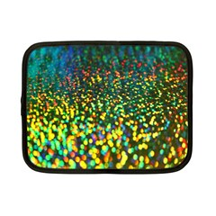 Construction Paper Iridescent Netbook Case (small)
