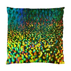 Construction Paper Iridescent Standard Cushion Case (One Side)
