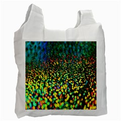 Construction Paper Iridescent Recycle Bag (one Side)