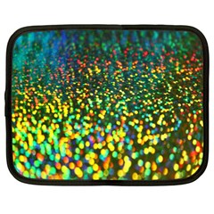 Construction Paper Iridescent Netbook Case (XL)