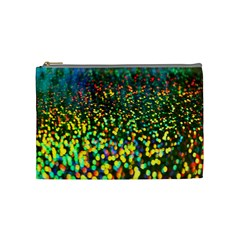 Construction Paper Iridescent Cosmetic Bag (Medium)