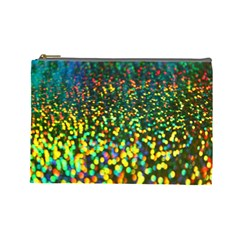 Construction Paper Iridescent Cosmetic Bag (large)