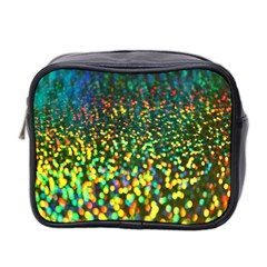 Construction Paper Iridescent Mini Toiletries Bag 2 Side
