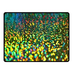 Construction Paper Iridescent Fleece Blanket (small)