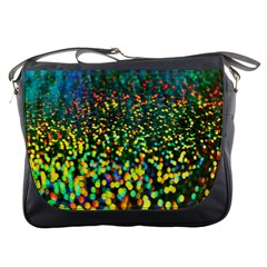 Construction Paper Iridescent Messenger Bags
