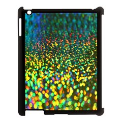 Construction Paper Iridescent Apple Ipad 3/4 Case (black)