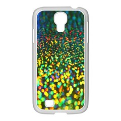 Construction Paper Iridescent Samsung Galaxy S4 I9500/ I9505 Case (white)