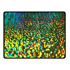 Construction Paper Iridescent Double Sided Fleece Blanket (small)