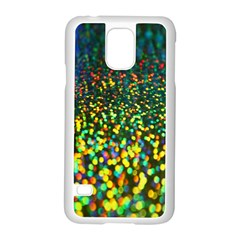Construction Paper Iridescent Samsung Galaxy S5 Case (white)
