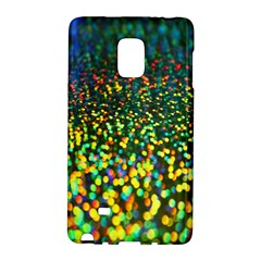 Construction Paper Iridescent Galaxy Note Edge