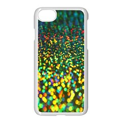 Construction Paper Iridescent Apple Iphone 7 Seamless Case (white)