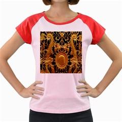 Golden Sun Women s Cap Sleeve T-Shirt
