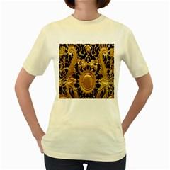 Golden Sun Women s Yellow T-Shirt