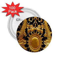 Golden Sun 2 25  Buttons (100 Pack)