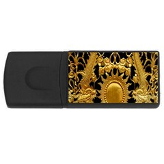 Golden Sun USB Flash Drive Rectangular (4 GB)