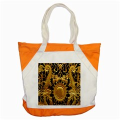 Golden Sun Accent Tote Bag