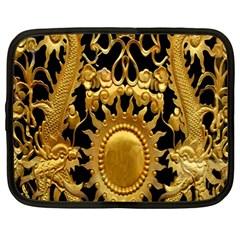 Golden Sun Netbook Case (large)
