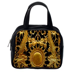 Golden Sun Classic Handbags (one Side)
