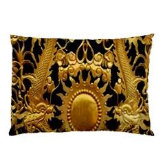 Golden Sun Pillow Case