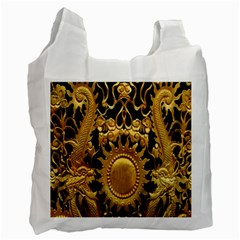 Golden Sun Recycle Bag (one Side)