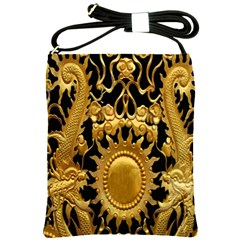 Golden Sun Shoulder Sling Bags