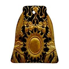 Golden Sun Ornament (bell)