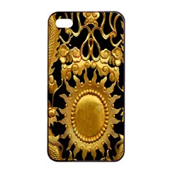 Golden Sun Apple iPhone 4/4s Seamless Case (Black)