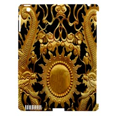 Golden Sun Apple Ipad 3/4 Hardshell Case (compatible With Smart Cover)