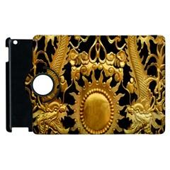 Golden Sun Apple Ipad 2 Flip 360 Case