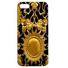 Golden Sun Apple Iphone 5 Hardshell Case With Stand