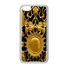 Golden Sun Apple Iphone 5c Seamless Case (white)