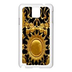 Golden Sun Samsung Galaxy Note 3 N9005 Case (white)