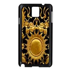 Golden Sun Samsung Galaxy Note 3 N9005 Case (black)