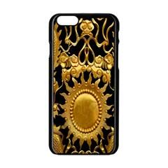 Golden Sun Apple Iphone 6/6s Black Enamel Case