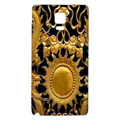 Golden Sun Galaxy Note 4 Back Case