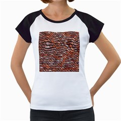 Roof Tiles On A Country House Women s Cap Sleeve T