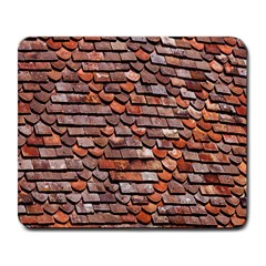 Roof Tiles On A Country House Large Mousepads