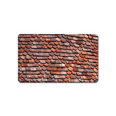 Roof Tiles On A Country House Magnet (name Card)