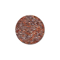 Roof Tiles On A Country House Golf Ball Marker (4 Pack)
