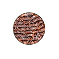 Roof Tiles On A Country House Hat Clip Ball Marker