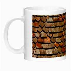 Roof Tiles On A Country House Night Luminous Mugs