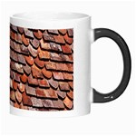 Roof Tiles On A Country House Morph Mugs Right